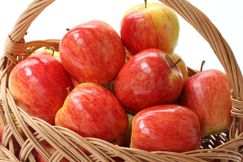 Download Apples stock image. Image of autumn, isolated, basket - 26598129