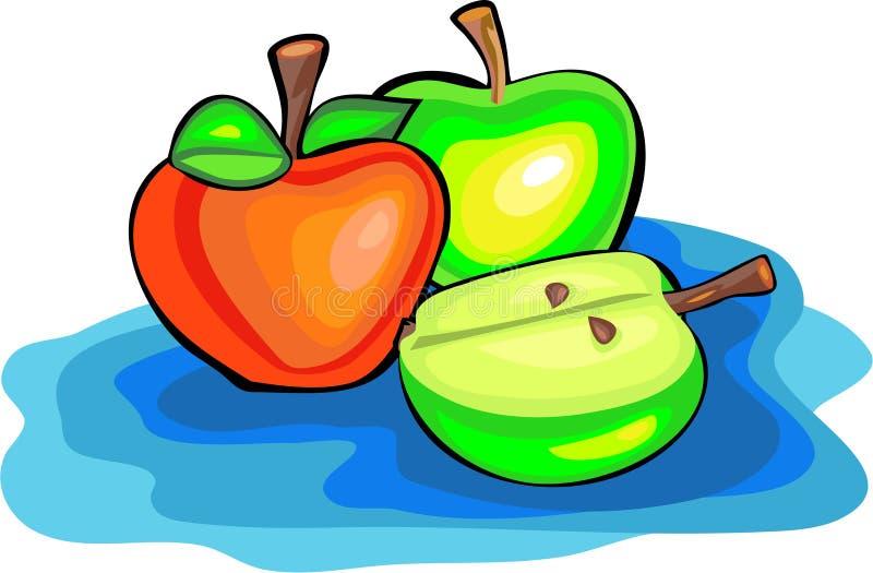 Apples vector illustration