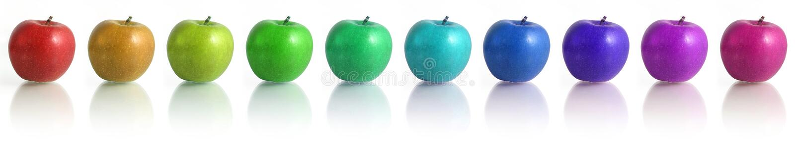 Apples. Spectar royalty free stock photography