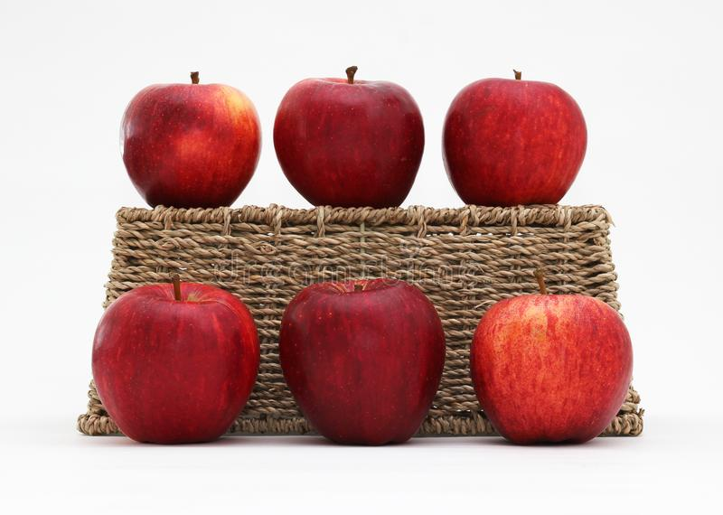 Apples and a basket