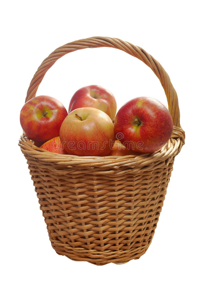 Download Apples In A Basket Royalty Free Stock Photo - Image: 23444225