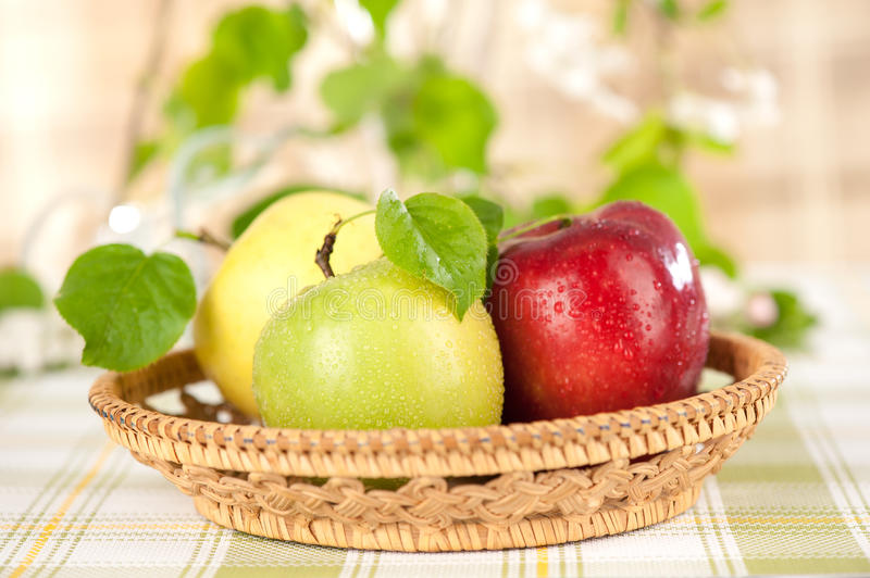 Download Apples In The Basket Royalty Free Stock Photography - Image: 24697037