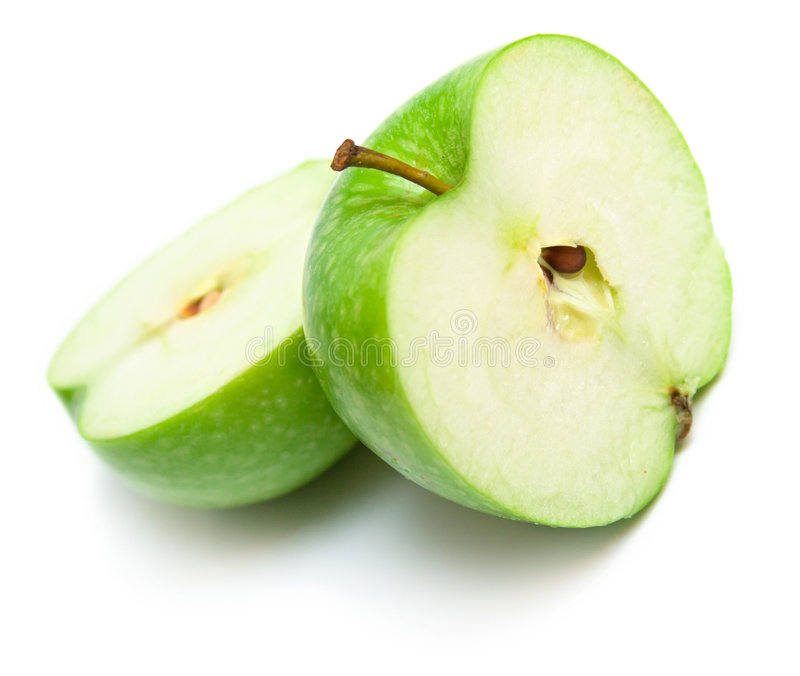 Download Apples cut on a part 5 stock image. Image of apple, food - 7058137