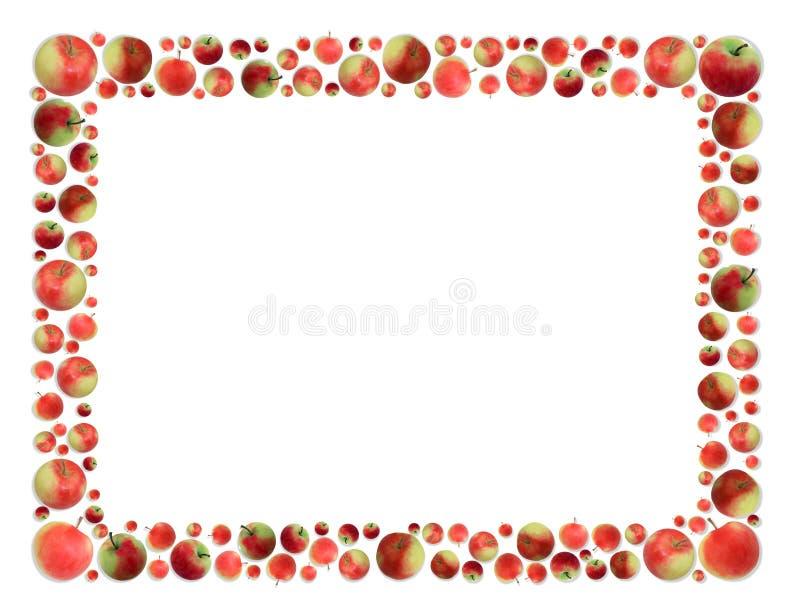 Apples frame stock illustration