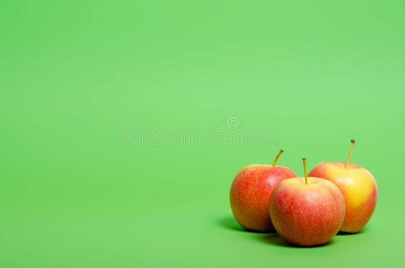 Apples fruit healthy nature royalty free stock image
