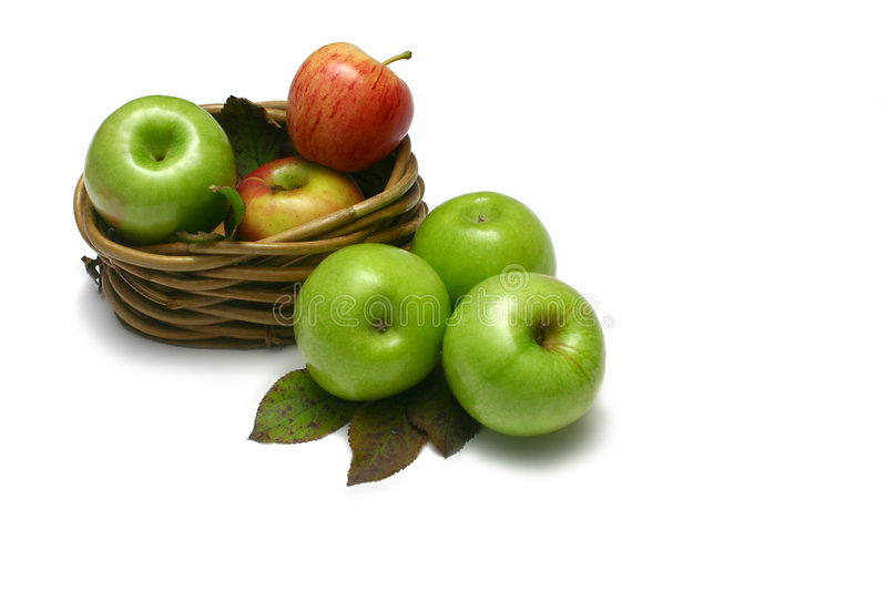 Apples I stock images