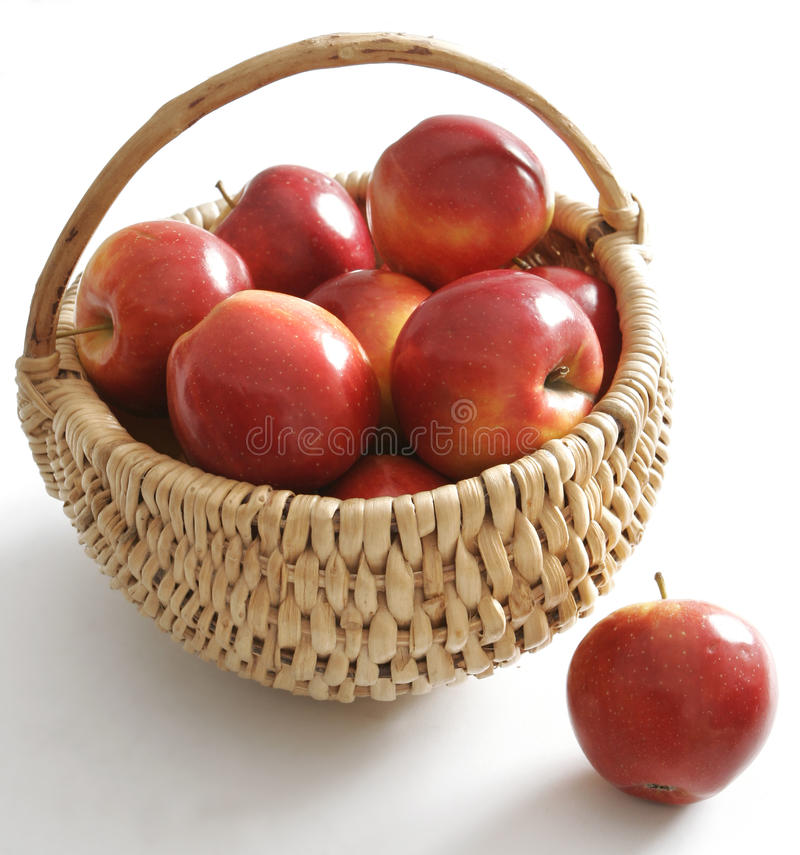 Free Apples In The Basket Royalty Free Stock Photos - 10044708