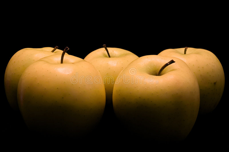 Download Apples, painted with light stock photo. Image of painting - 47684