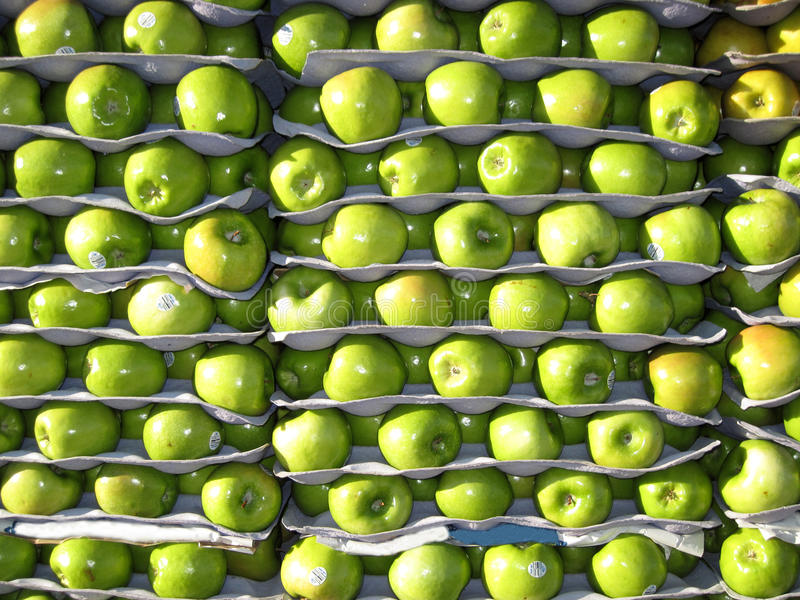 Apples for sale stock photos