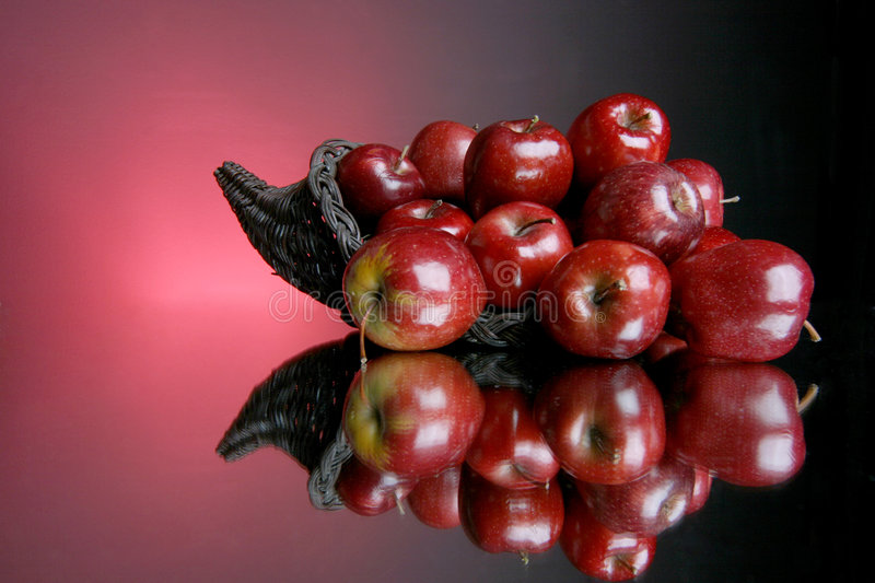 Apples series 3 stock images