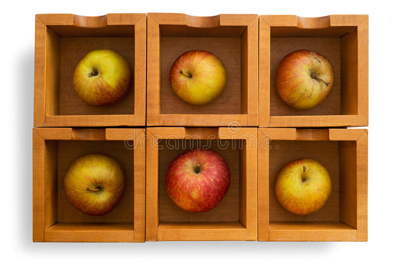 Download Apples stock image. Image of packaging, up, wooden, fruit - 36143911
