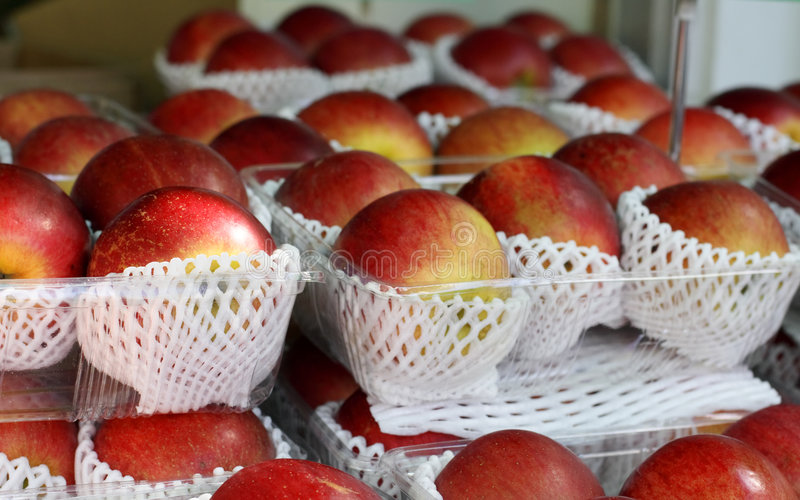 Download Apples stand stock image. Image of casserole, harvest - 1418993