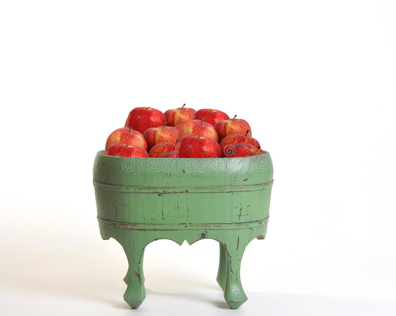Apples In A Tub Stock Photography