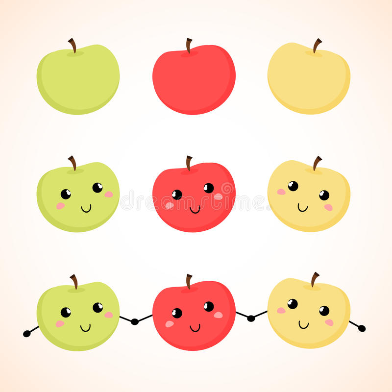 Download Apples. Vector Illustration. Background. Stock Vector - Image: 41926572