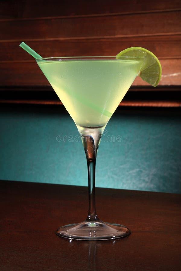 Appletini Cocktail stockfotografie