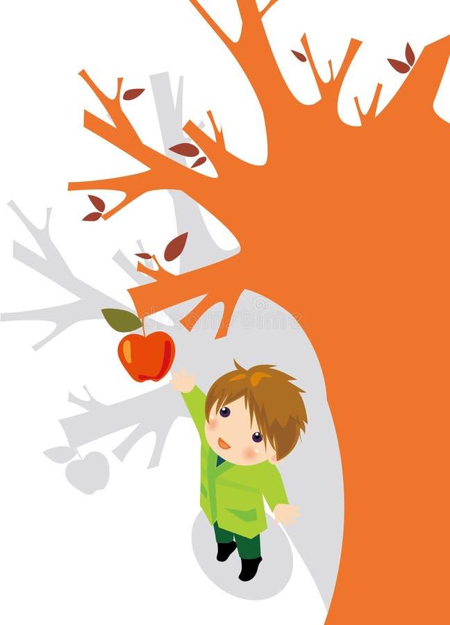 Appletree royalty-vrije illustratie