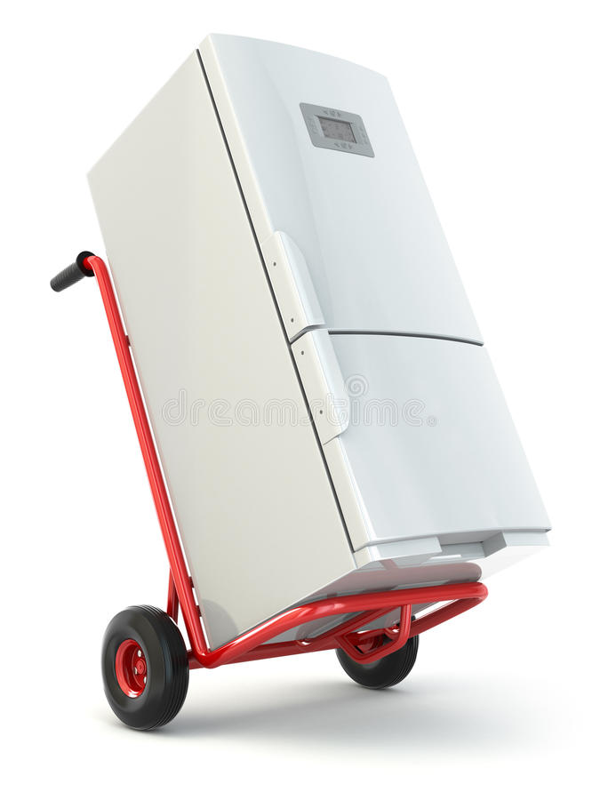 appliance delivery hand truck and fridge stock delivery truck clip art border ups delivery truck clipart