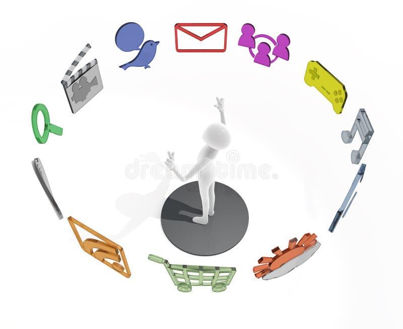 Application vector illustration