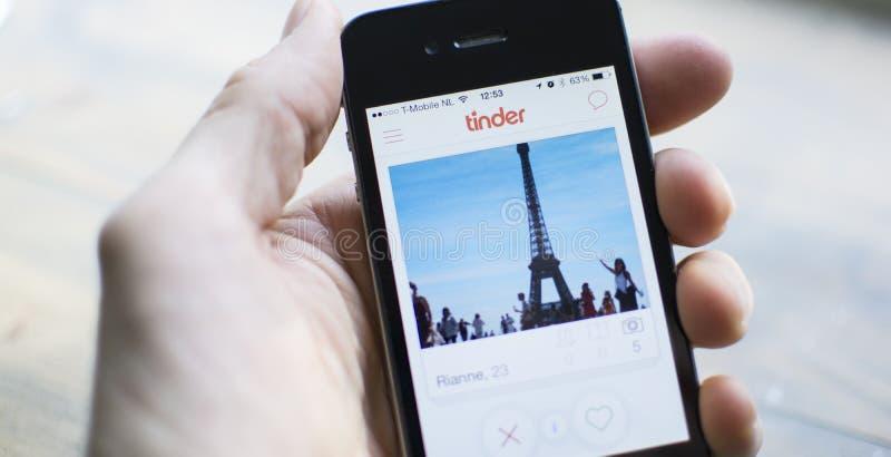 Application de mobile de matière inflammable photographie stock libre de droits