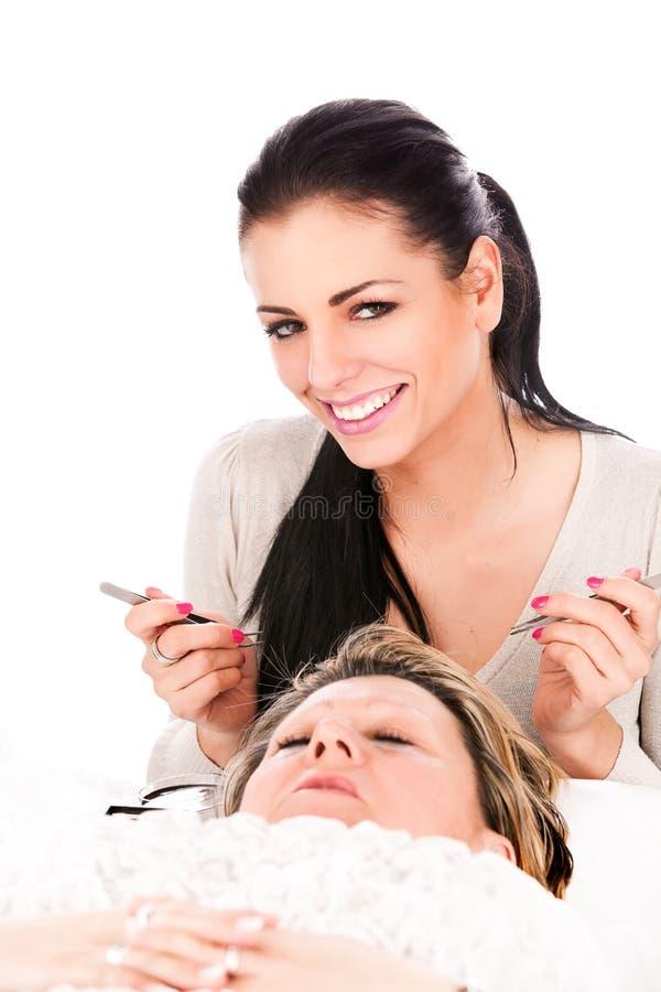 Download Application Of False Eyelashes Stock Photo - Image: 31650166