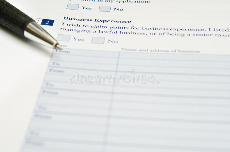 Download Application form stock image. Image of blank, mark, business - 18115989