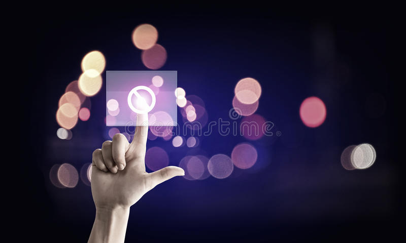 Application icon royalty free stock photo