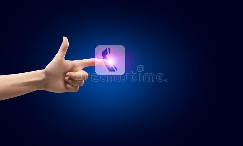 Application icon stock photo