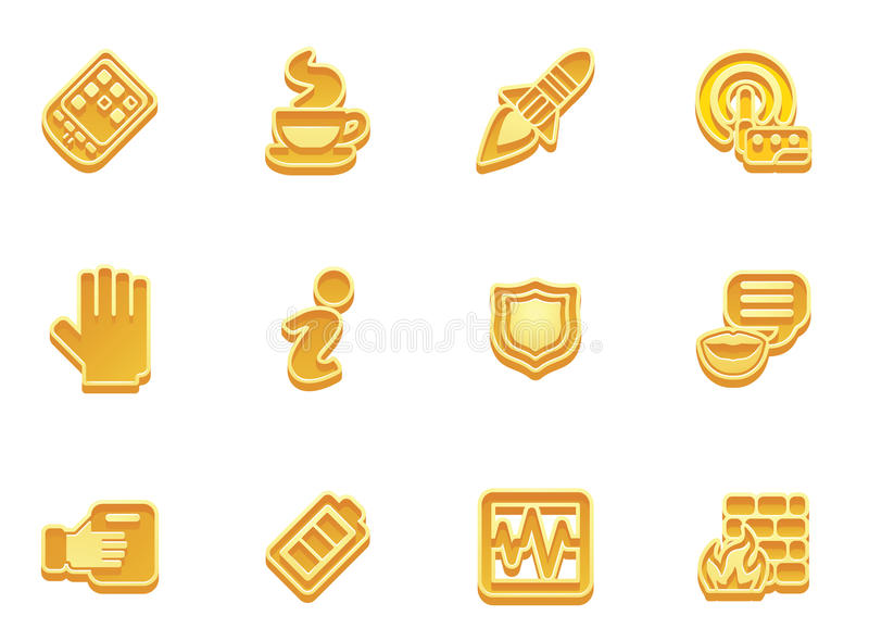 Download Application Icon Set Royalty Free Stock Photo - Image: 17788095