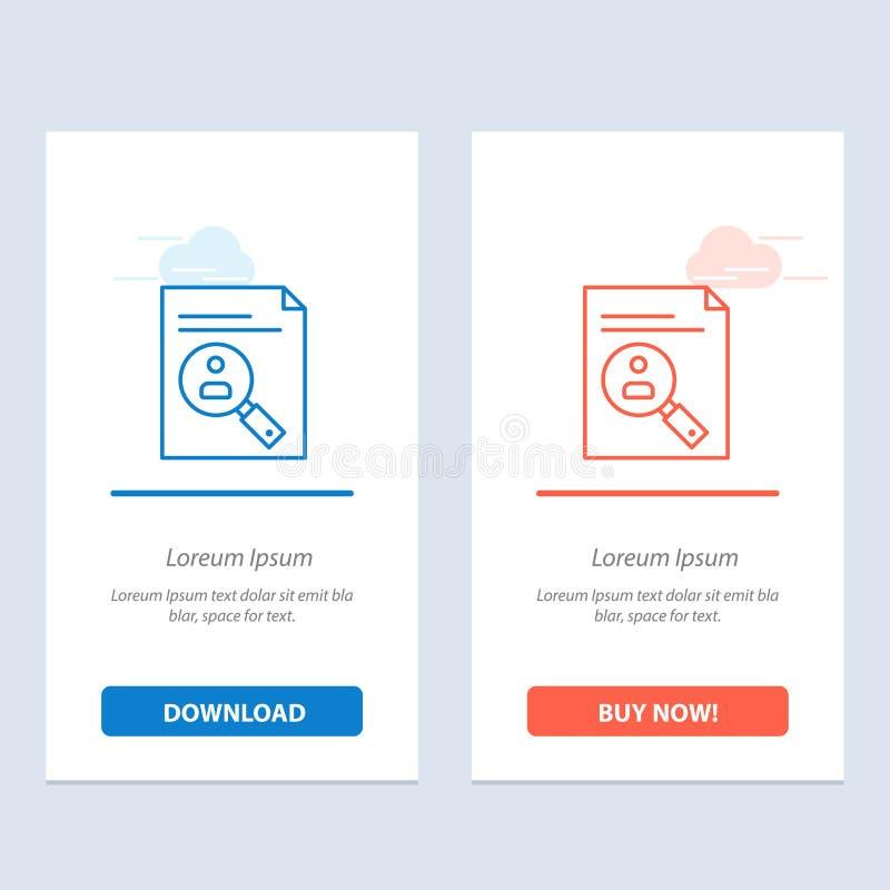 Application, Presse-papiers, Curriculum, Cv, Resume, Personnel Télécharger et acheter maintenant le modèle de carte widget web illustration libre de droits