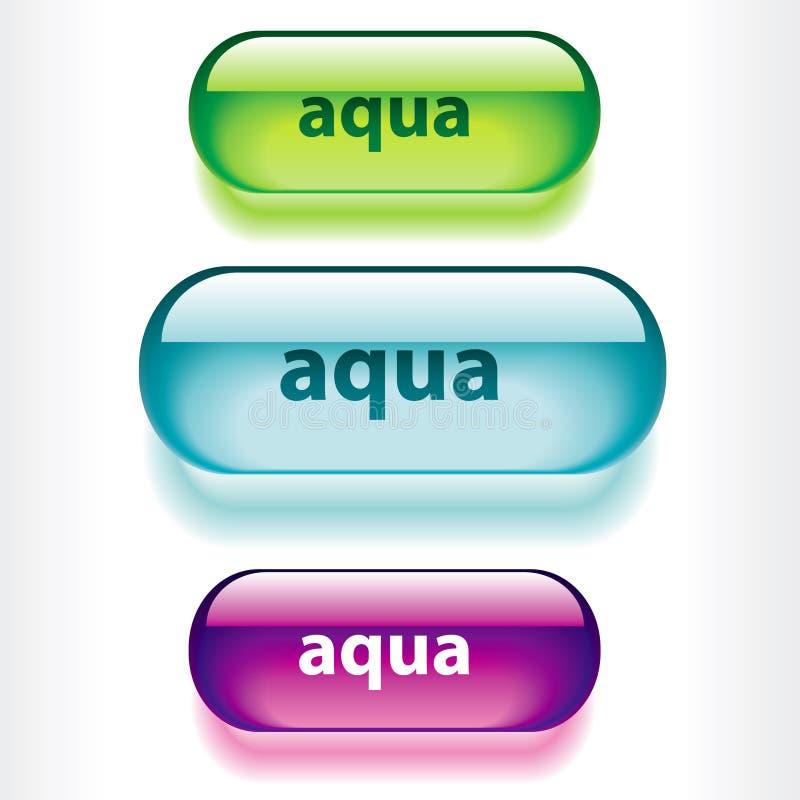 applications buttons web иллюстрация вектора