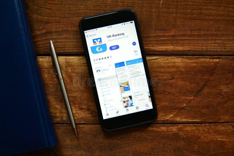 Applicazione contante mobile fotografia stock libera da diritti