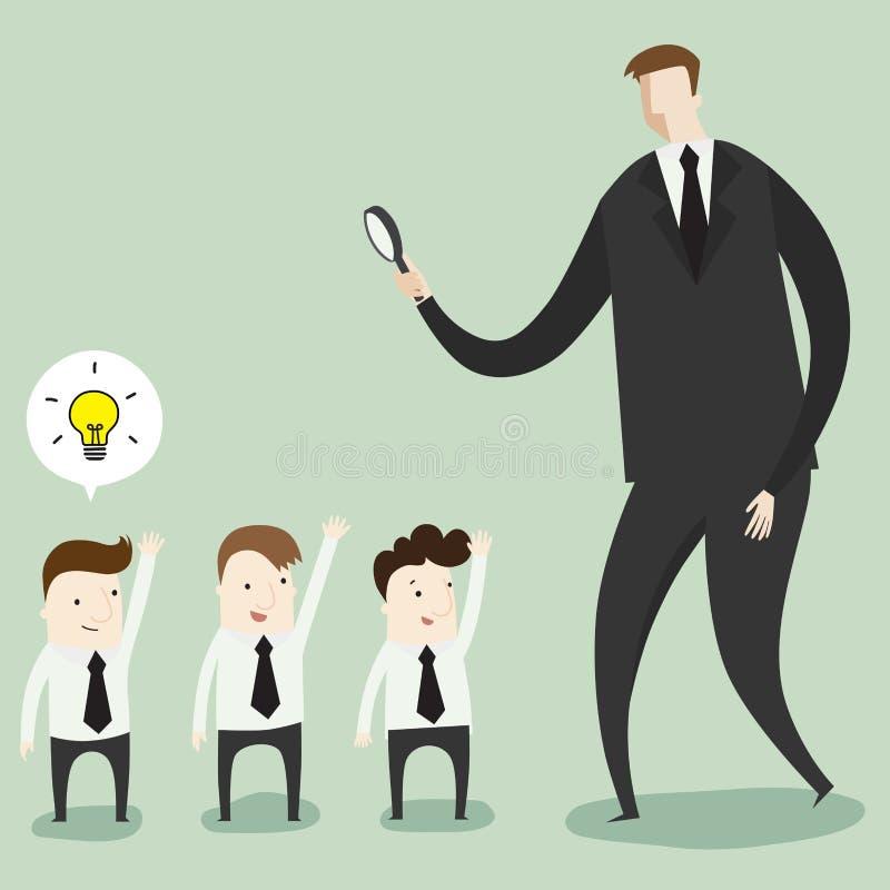 Applicazione di job royalty illustrazione gratis