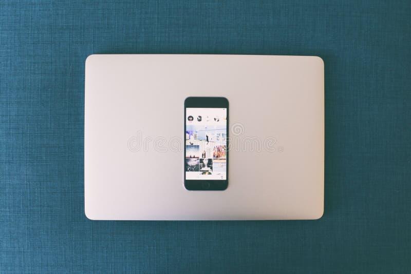 Applicazioni su uno smartphone