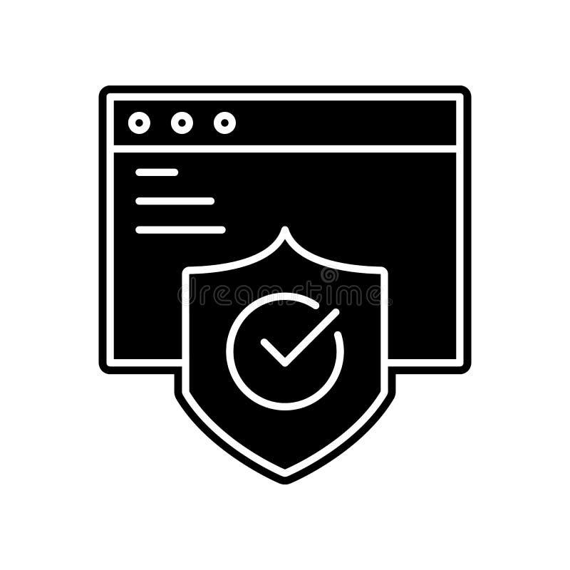 Applikation kontrollsymbol Beståndsdel av projektet för allmänna data för mobilt begrepp och rengöringsdukappssymbol Skåra plan s stock illustrationer