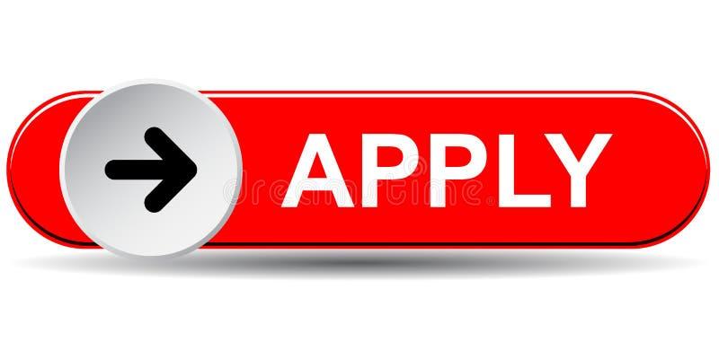 Apply here button stock illustration. Illustration of commerce - 121725533