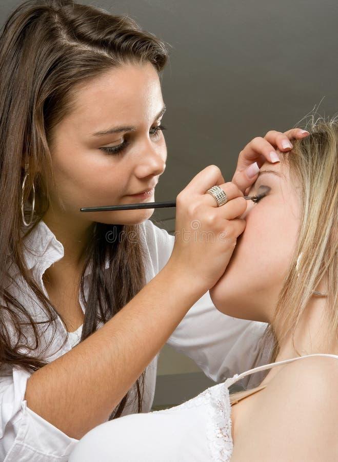 Free Applying Make-up Royalty Free Stock Photo - 5061515