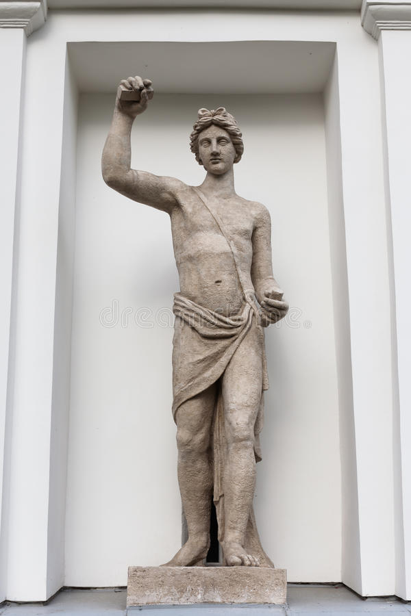 Appolo stone statue. See my other works in portfolio royalty free stock photography