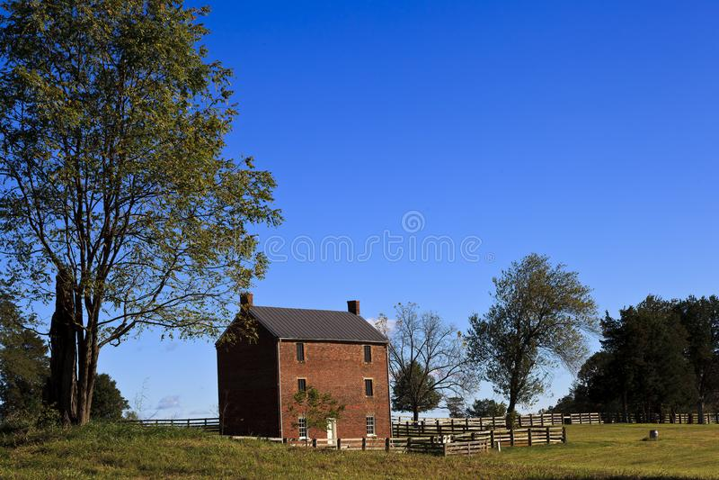 Appomattox County arrest royaltyfria bilder
