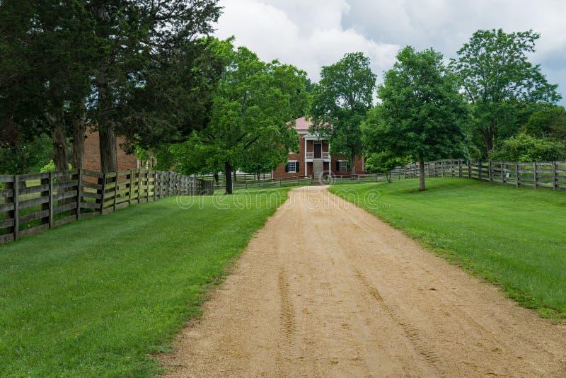 Historic Appomattox Court House - 2 stock photography