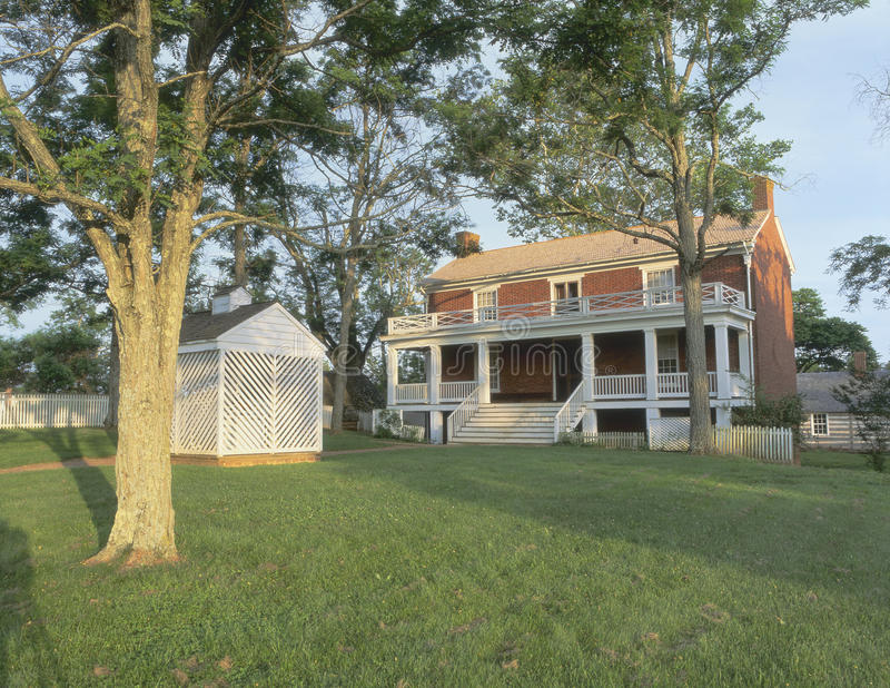 Download Appomattox Court House stock illustration. Image of dwellings - 23176886