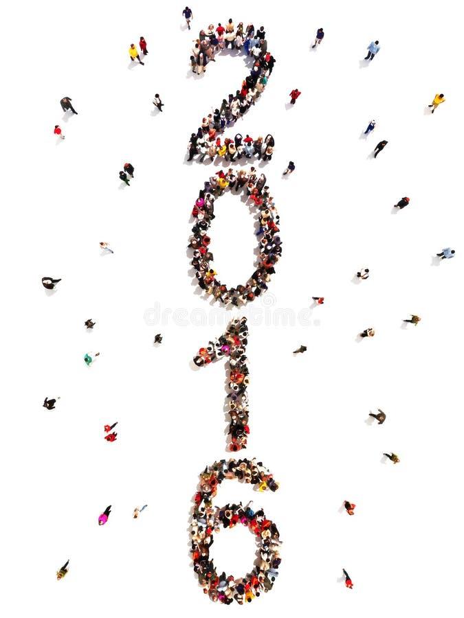 Apporter pendant la nouvelle année illustration de vecteur