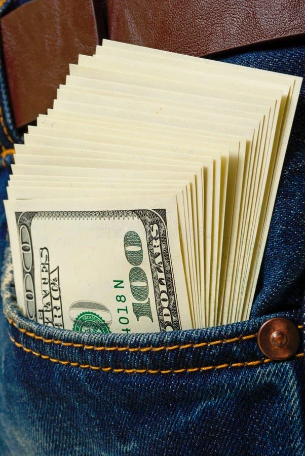 Apports d'argent liquide. photographie stock libre de droits