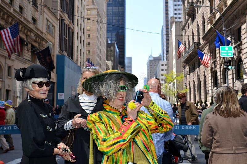 Apprécier le défilé de capot de Pâques photographie stock libre de droits