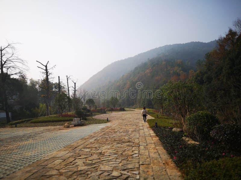 Apprécier le week-end pour Huzhou de déplacement images libres de droits