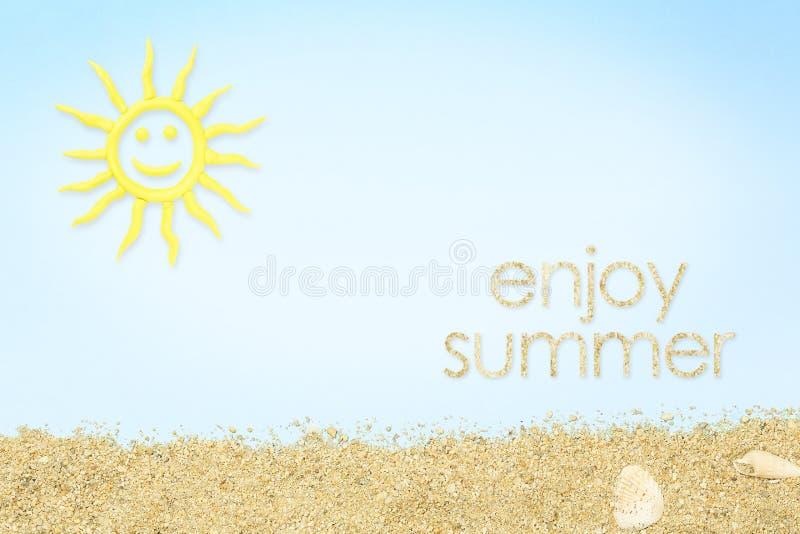 Appréciez l'été photo libre de droits