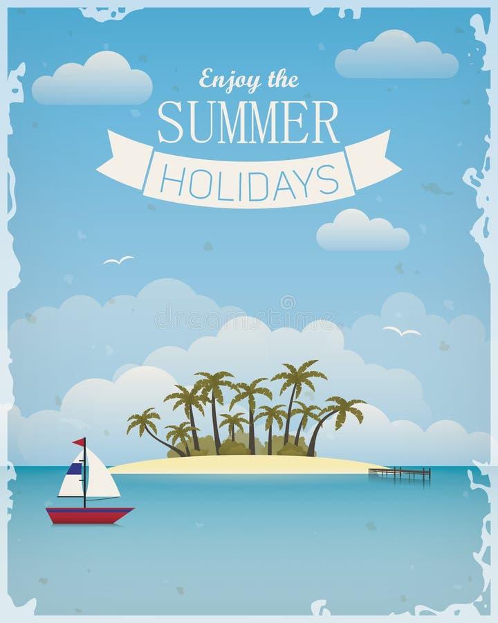 Appréciez les vacances d'été photographie stock libre de droits