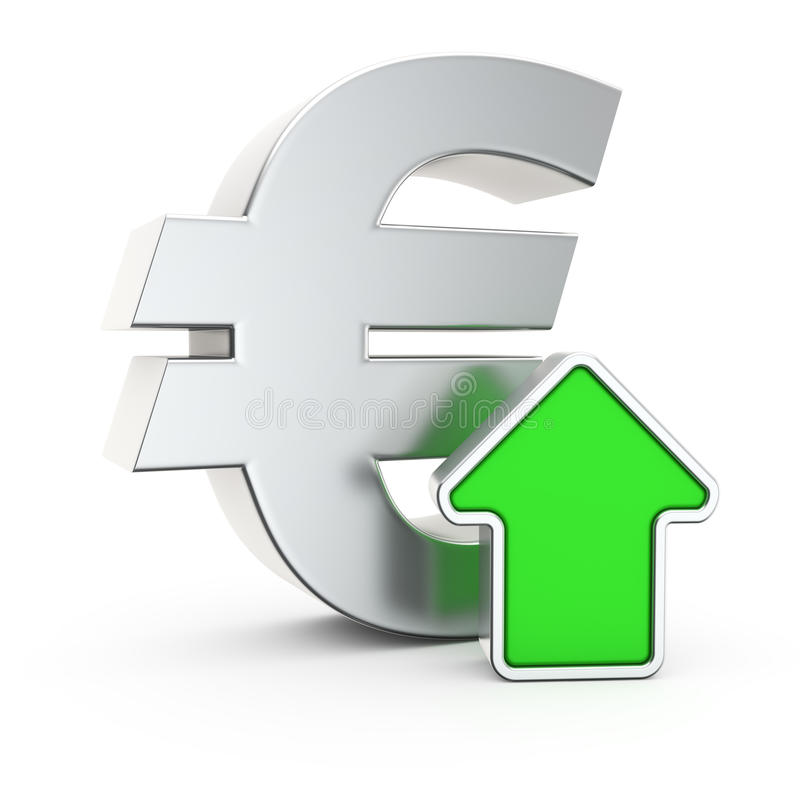 Appreciation Of The Euro Stock Illustration Illustration Of Banking