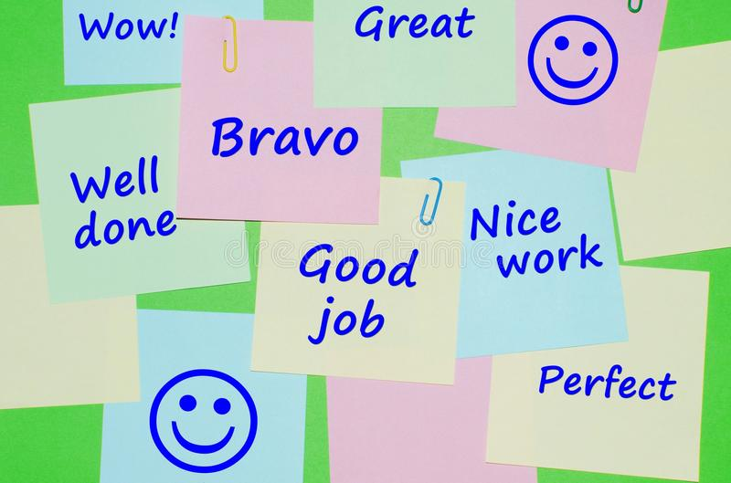 Appreciation messages on reminder notes stock photo image of paper download appreciation messages on reminder notes stock photo image of paper note 50752174 thecheapjerseys Images