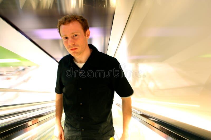 Apprehensive Modern Man royalty free stock photos