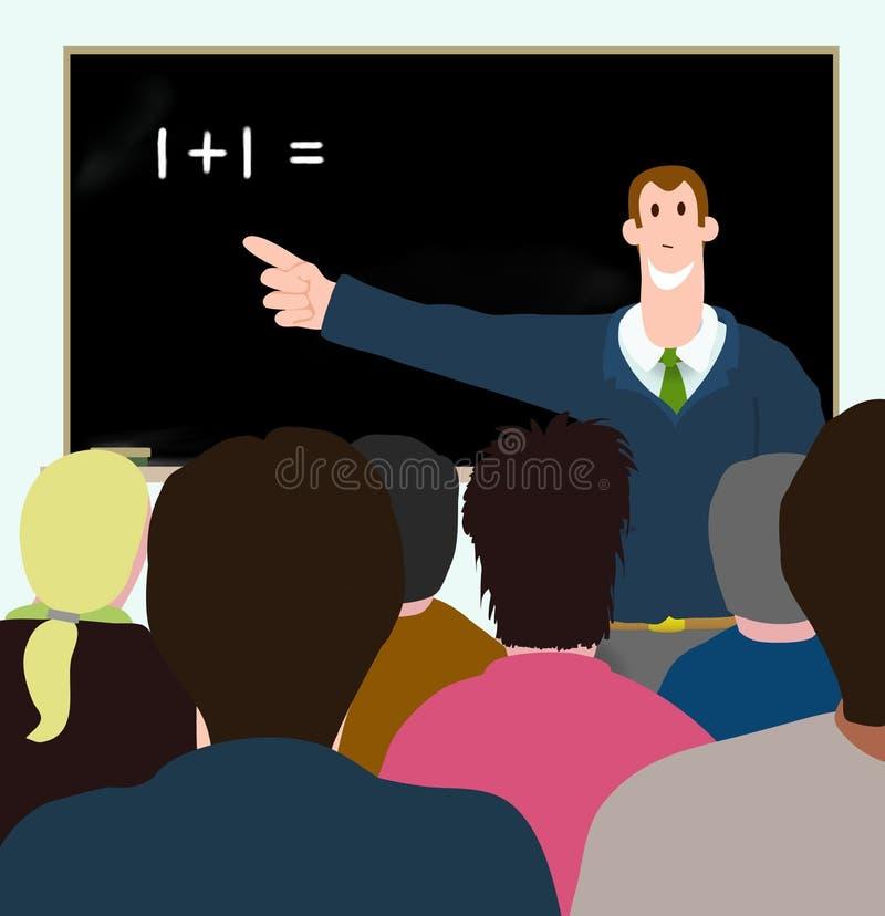 Apprendimento adulto illustrazione di stock